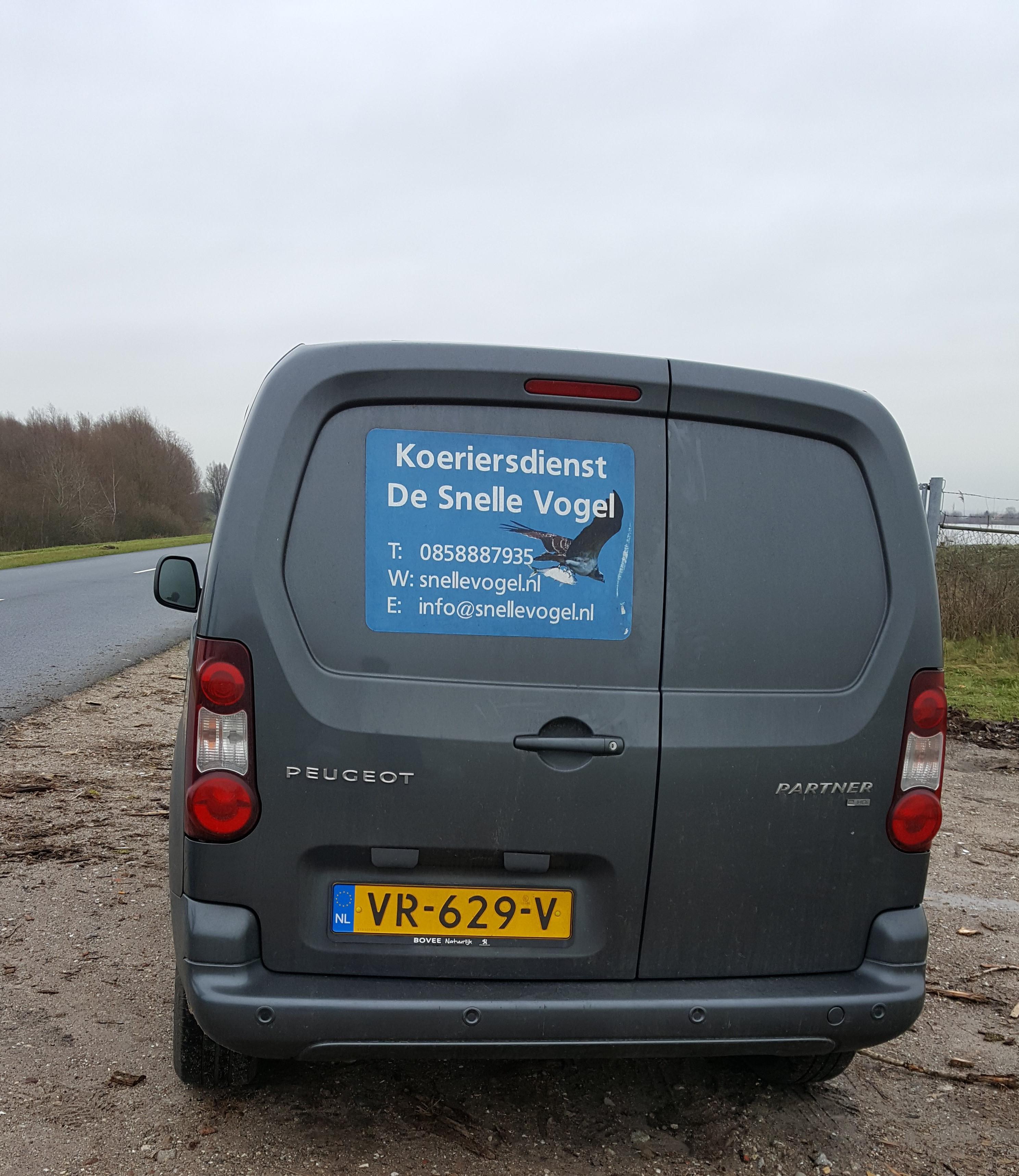 Koeriersdienst De Snelle Vogel heeft ook een postbusservice in Amersfoort, Utrecht, Amsterdam en Leiden